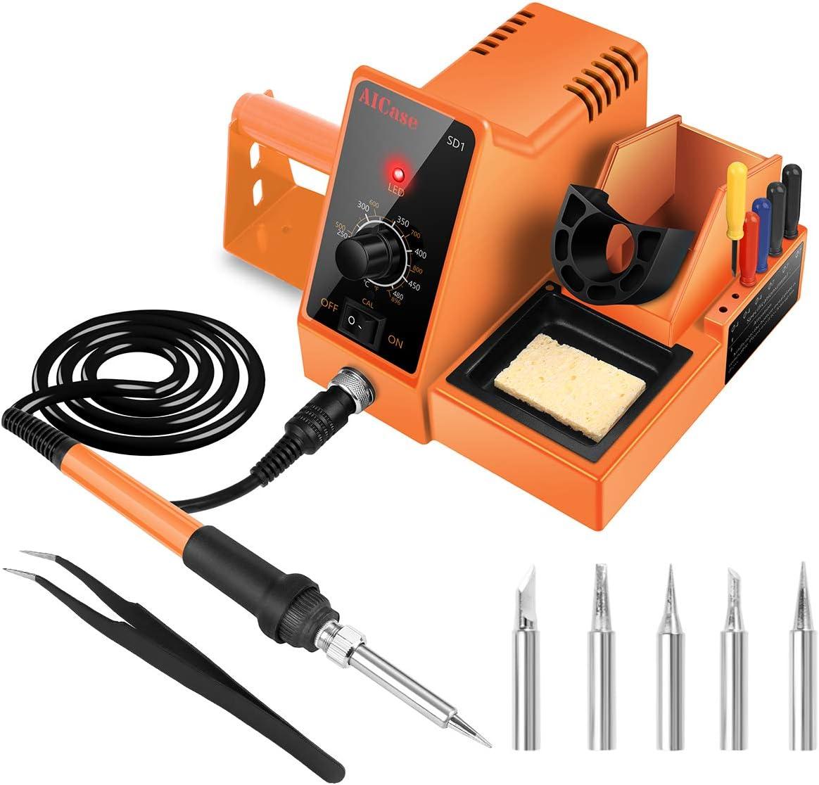 estacion soldador electrico de estaño AICase