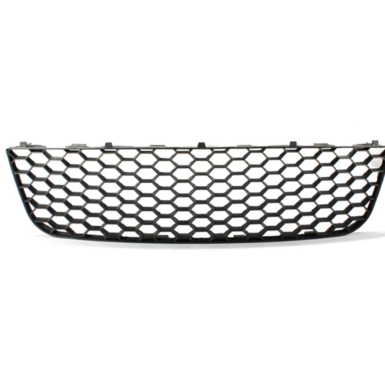ZMAUTOPARTS VW GTI Gli Jetta MK5 Lower Bumper Center Mesh Grille Grill+Fog Light Cover