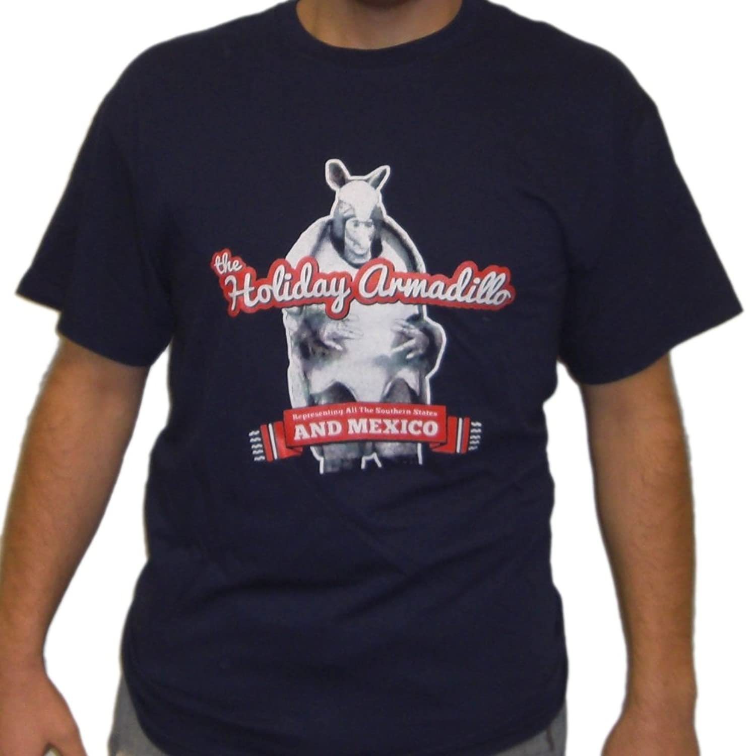 The Holiday Armadillo T-Shirt Friends Ross Christmas Hannukah ...