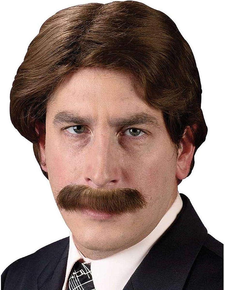 Disfraces para todas las ocasiones Fw8198 peluca y bigote Set 70S