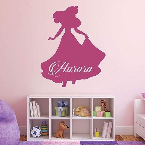 Amazon Com Custom Name Princess Aurora Personalized Vinyl Wall