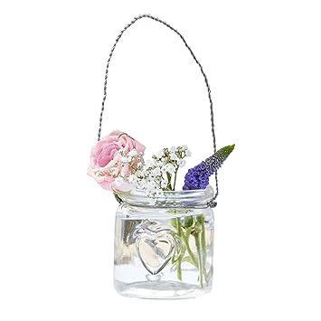 Teelicht Gläser Mini Blumen Vasen Aus Glas Inklusive Hängevorrichtung Hochzeits Deko Tisch Dekoration Vintage Hochzeit Geburtstag Blumen Vasen