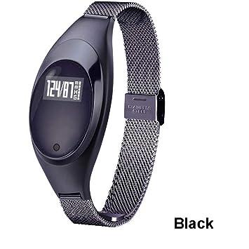JingJingQi Reloj Inteligente 2019 Mujeres Z18 Smart Watch ...