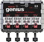 NOCO Genius G4 6V 12V 4 4A 4 Bank UltraSafe Smart Battery Charger