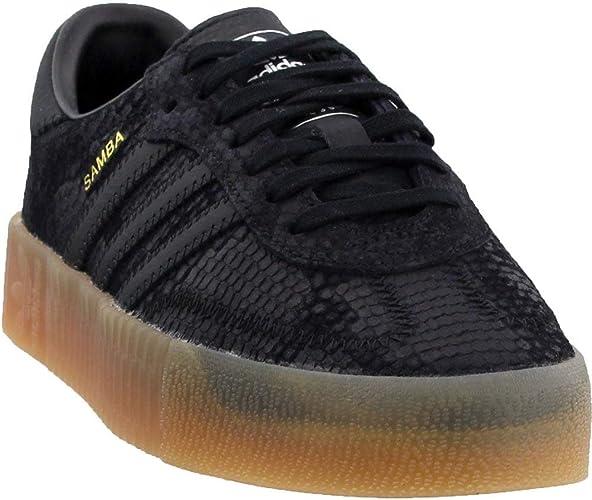 Adidas Samba Rose Baskets décontractées pour femme, Noir ...
