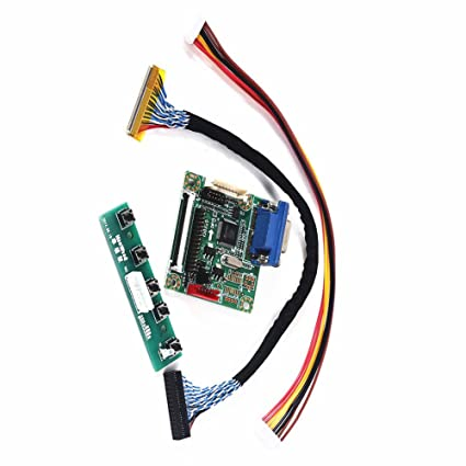 """MT6820-B Universal LVDS LCD Monitor Driver Controller Board 5V 17/"""" 42/"""" New"""