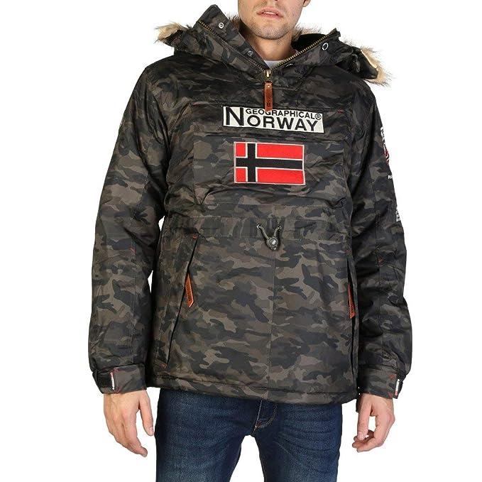 Geographical Norway Chaqueta Boomerang_Man_Camo Hombre: Amazon.es: Ropa y accesorios