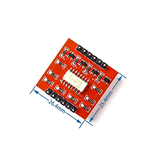 2PCS 4-Channel Opto-isolator IC Module High and Low level Expansion Board