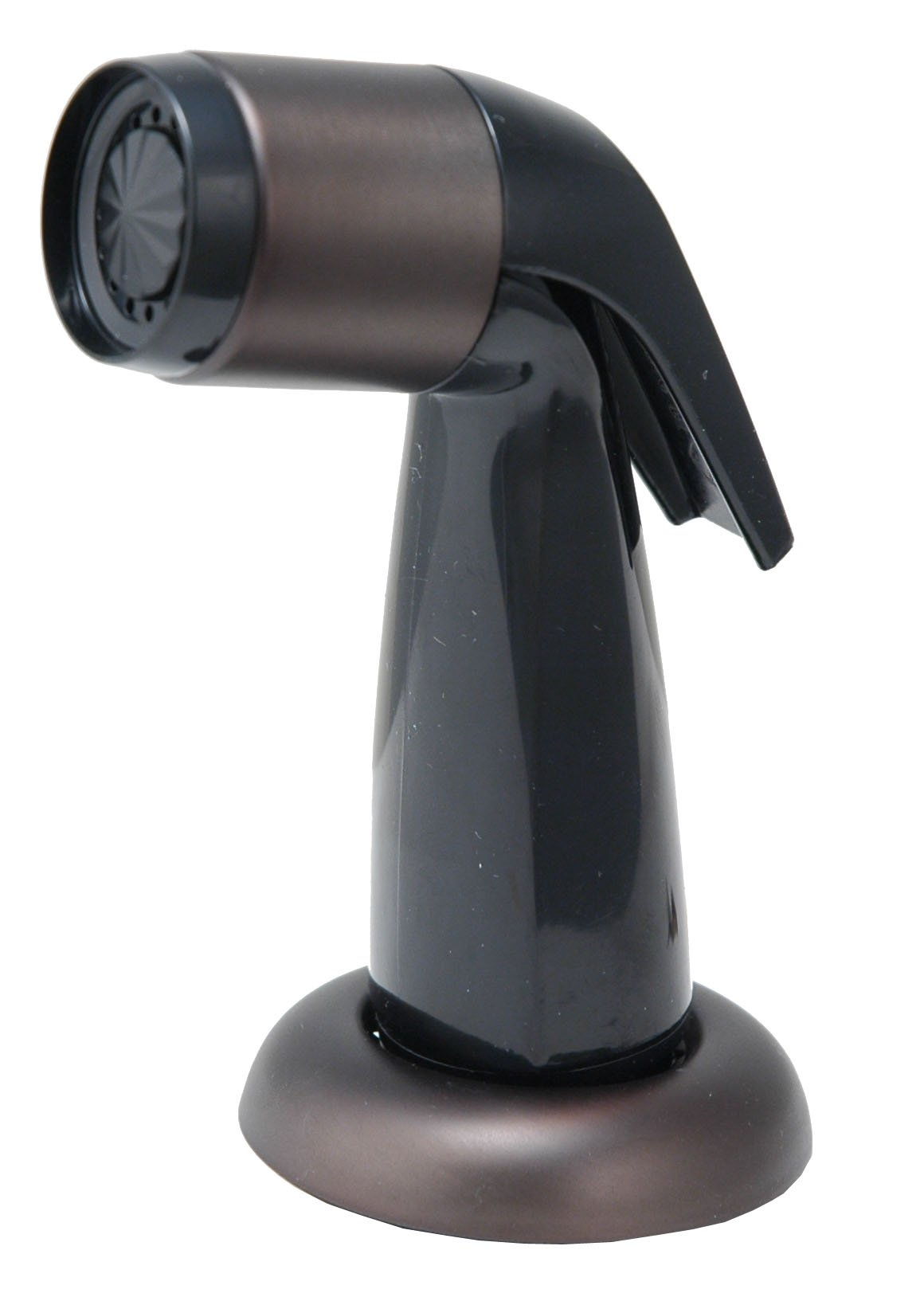 8'' Kitchen Deck Faucet, 2-handle, Washerless Cartridge - By Plumb USA (Oil Rubbed Bronze Porcelain Handles (With Sprayer)) by PlumbUSA (Image #3)