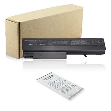 Batería 5200 Mah De Batería Para Ordenador Portátil HP Compaq 6715b 6715s NC6400 NC6100 de: Amazon.es: Electrónica