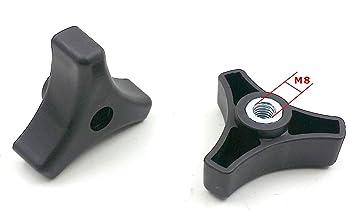 Triangular para tirador Knob Locker para cortacésped cortacésped generico| Repuesto Compatible con la mayoría de