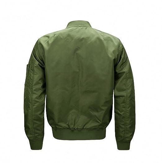 Amazon.com: NEW Men Print Jacket Coat Camouflage Military Air Force Embroidery Bomber Jacket: Clothing