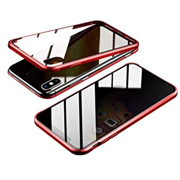 coque iphone xs magnetique anti espion