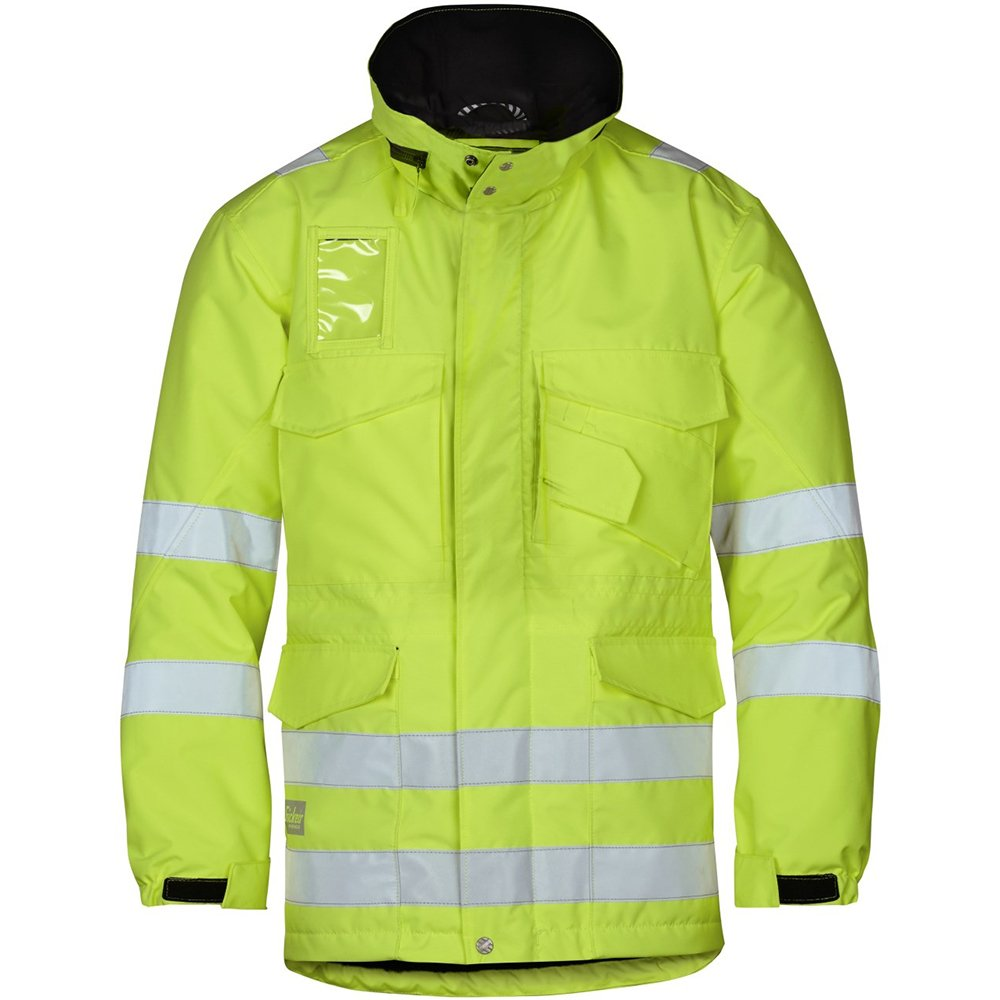 Snickers 18236600003 Size X-Small Class 3 High-Vis Winter Long Jacket - Yellow