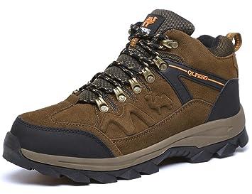 GNEDIAE Para Hombre Botas de Senderismo s de Ocio al Aire Libre Zapatos de Deporte Zapatillas de Senderismo Cordones Trainer Botas: Amazon.es: Zapatos y ...