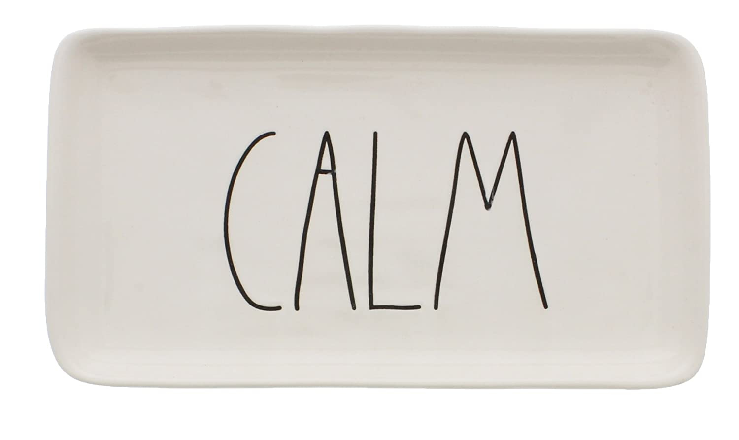 Rae Dunn by Magenta Ceramic CALM LL Tray