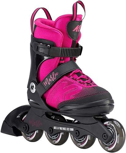 K2 Skate Youth Marlee Inline Skates, Magenta, 11-2