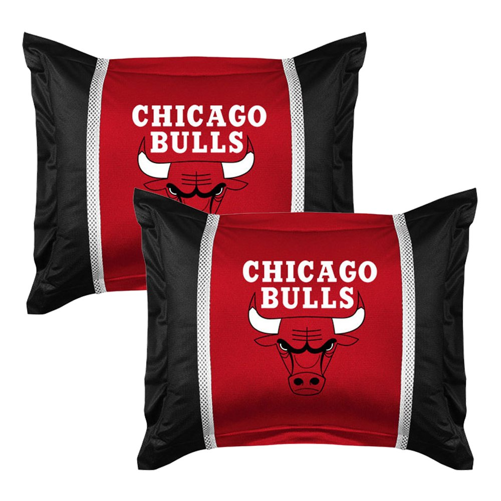 7pc NBA Chicago Bulls Full Bedding Set