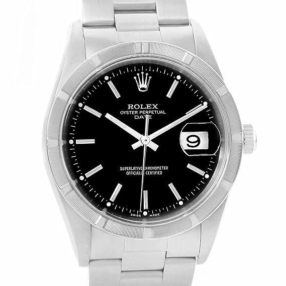 Rolex 15210 - Reloj automático para hombre (certificado de autenticidad)