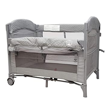 Amazon Com Baby Bedside Sleeper Bassinet Bed 3 In 1 Portable Crib For Newborns Side Sleeper For Babies Toddler Play Pen Baby