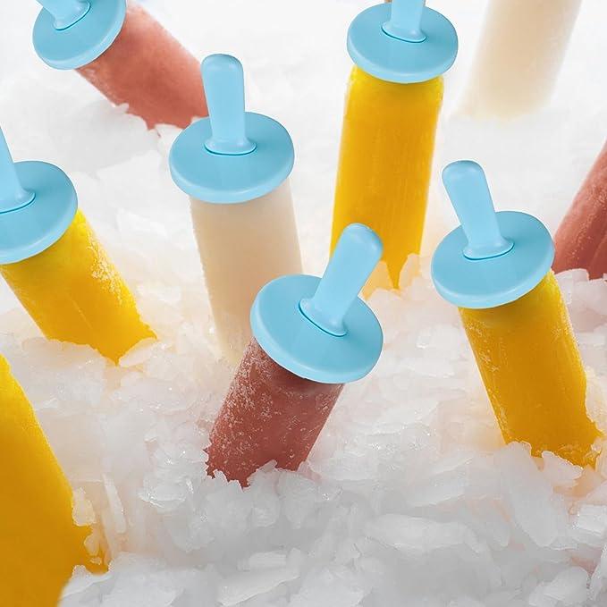 Compra Molde para Helados, Joylink Moldes de Paletas BPA y Reutilizable Moldes de Polos Frozen Yogurt Helado Pop Mold Popsicle para Niños Lolly Maker Moldes ...