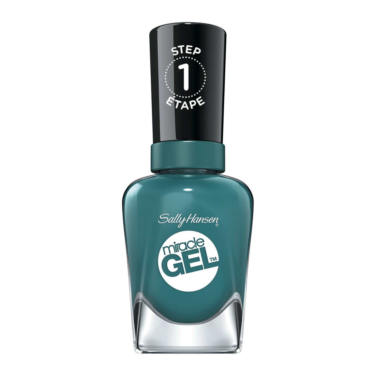 Sally Hansen Miracle Gel Fish-Teal Braid, .5 Oz, Pack Of 1