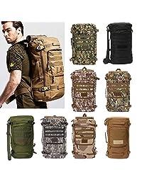 50L Tactical Military Trekking Backpack Rucksack Shoulder Bag For Camping Hiking