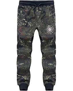 BOLF Sweatpants Pants Jogging Training Sports Joggers Graphic Mens 6F6 Camo