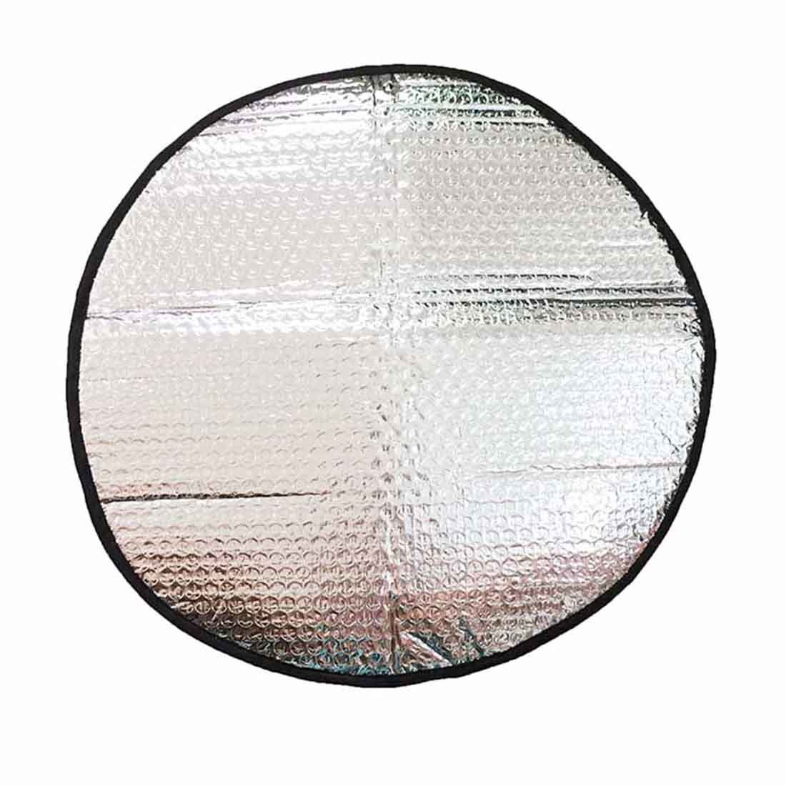 diameter 45cm Zhiyi Steering Wheel Cover Sun Shade for most Vehicle