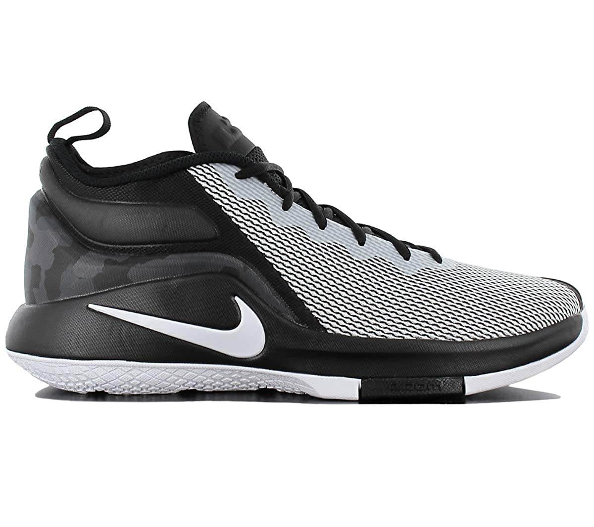 hot sale online 5b4a8 5f6f6 ... reduced nike mens lebron witness ii basketball shoe black white 14 buy  online at low prices