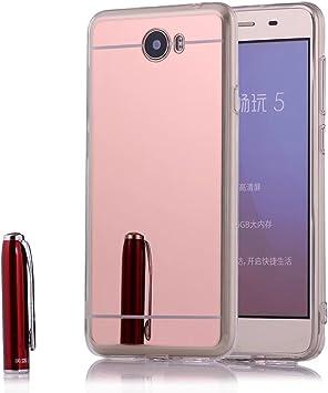 Funda Espejo Silicona Gel Tpu para Huawei Y5 II / Huawei Y5 2 ...