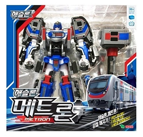 330 Tv Lines ([Young Toys] Tobot Athlon Metron - 2017 Korean TV animation transforming robot figure)