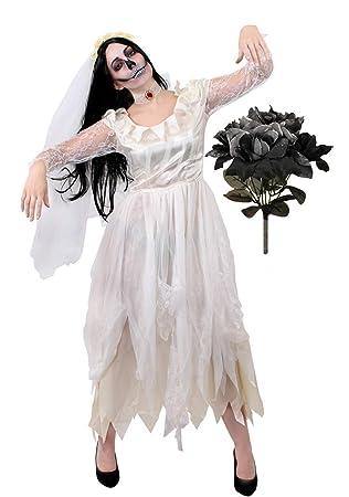 I LOVE FANCY DRESS LTD Disfraz DE Novia Fantasma para Damas ...