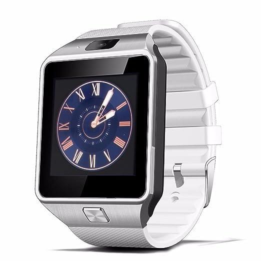Zomtop DZ09 Bluetooth del reloj del reloj inteligente con cámara de sincronización para Android IOS Móvil