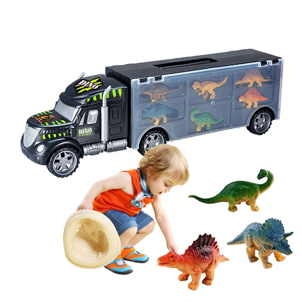 【送料無料/新品】 BOOMdan B07KW8LXVM 恐竜 トランスポート BOOMdan カー キャリア トラック おもちゃ おもちゃ 内部に恐竜のおもちゃ付き - 最高の恐竜 子供向けおもちゃ 対象年齢3歳から8歳 B07KW8LXVM, URBAN BEAUTY PRODUCTS:a8e3c7a3 --- a0267596.xsph.ru