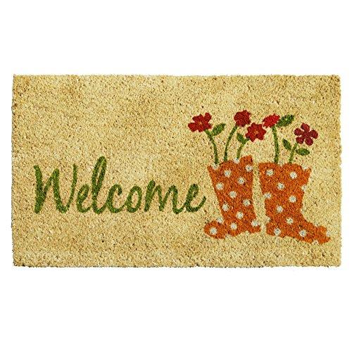 Home & More 121461729 Rainboots Welcome Doormat, 17