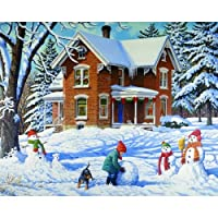 Bits & Pieces 500 Piece Studio Puzzle - Making New Friends - John Sloane
