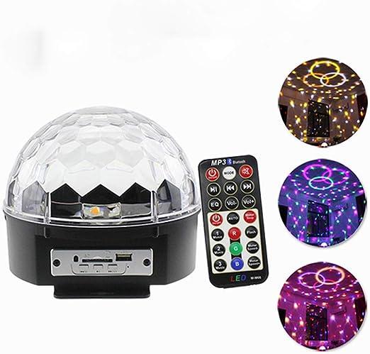 LLZI LED Estrella Proyector Lámpara Bluetooth Música Bola De ...