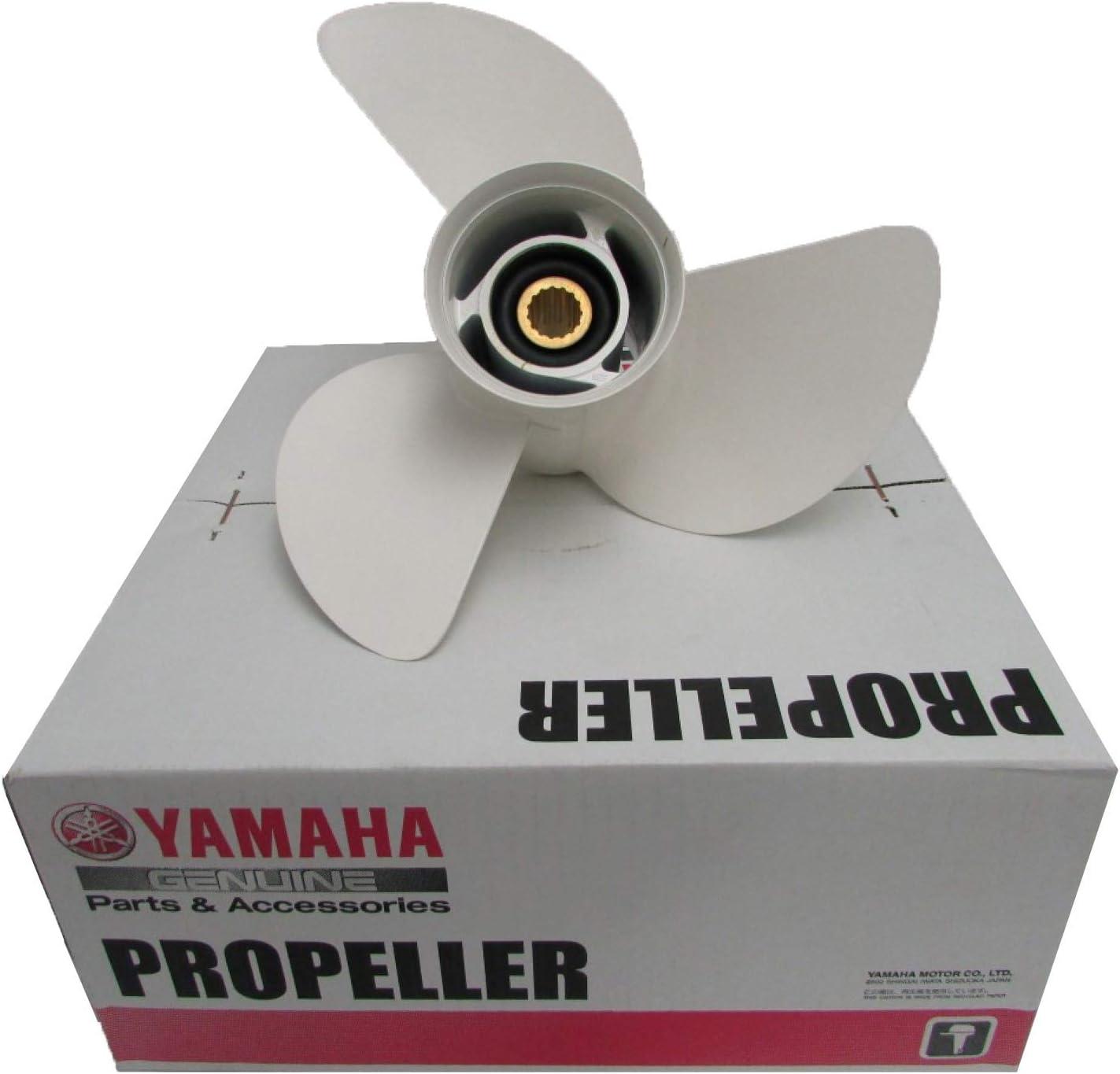 OEM Yamaha Aluminum 3 Blade Prop Propeller 13 1/2 x 15 6E5-45947-00-00