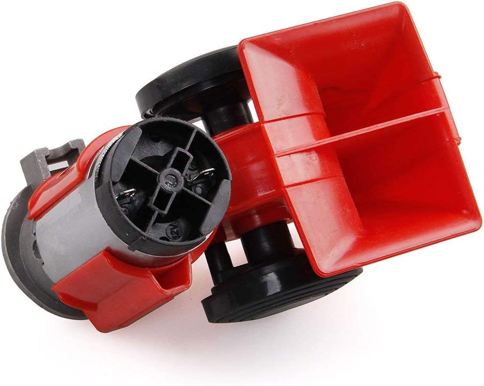 Manalada/® 12v wasserdicht hoch Pfeifton Motorrad-Auto-Koax Lautsprecher Universeller
