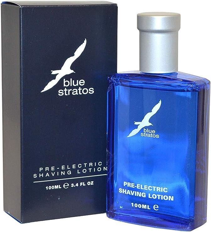 Blue Stratos - Loción para antes de afeitado con maquinilla ...
