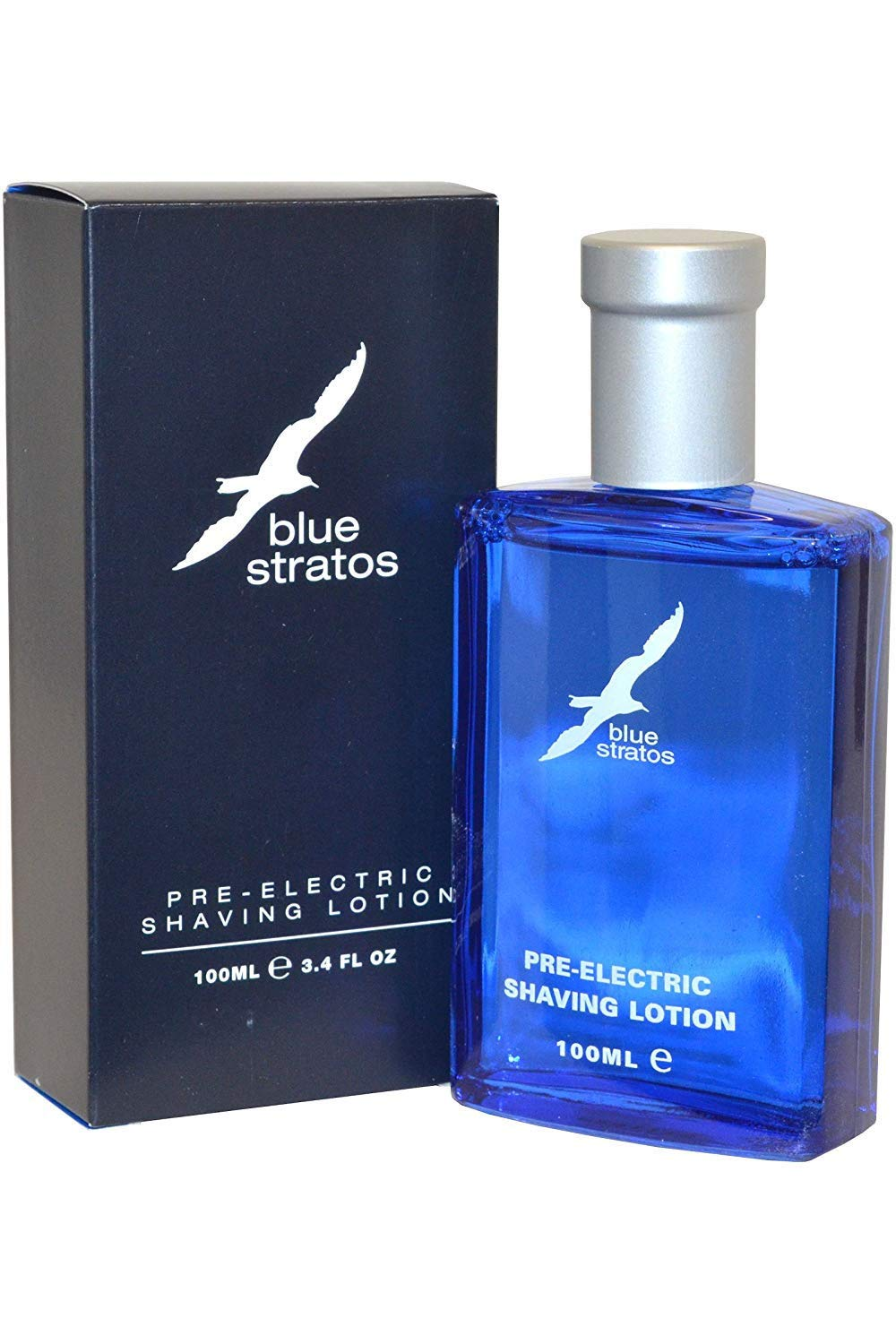 Blue Stratos by Blue Stratos Pre-Electric Shaving Lotion 100ml 5030147441102