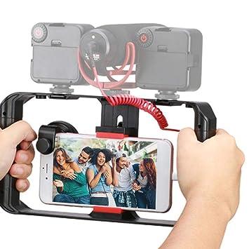 AYNEFY Estabilizador Soporte de Video para Teléfono, Teléfono ...