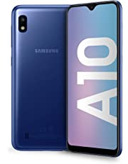 "Samsung Galaxy A10 Display 6.2"", 32 GB Espandibili, RAM 2 GB, Batteria 3400 mAh, 4G, Dual SIM Smartphone, Android 9 Pie, (2019) [Versione Italiana], Blue"
