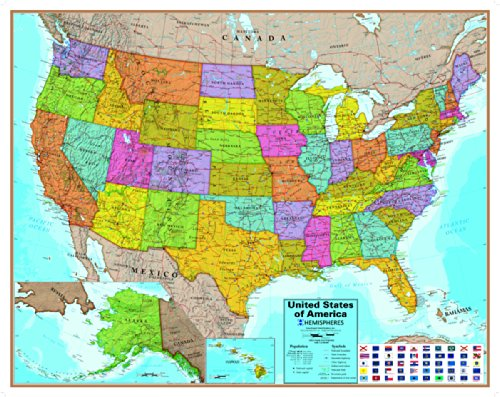 Hemispheres USA Map (Hemisphere Map)