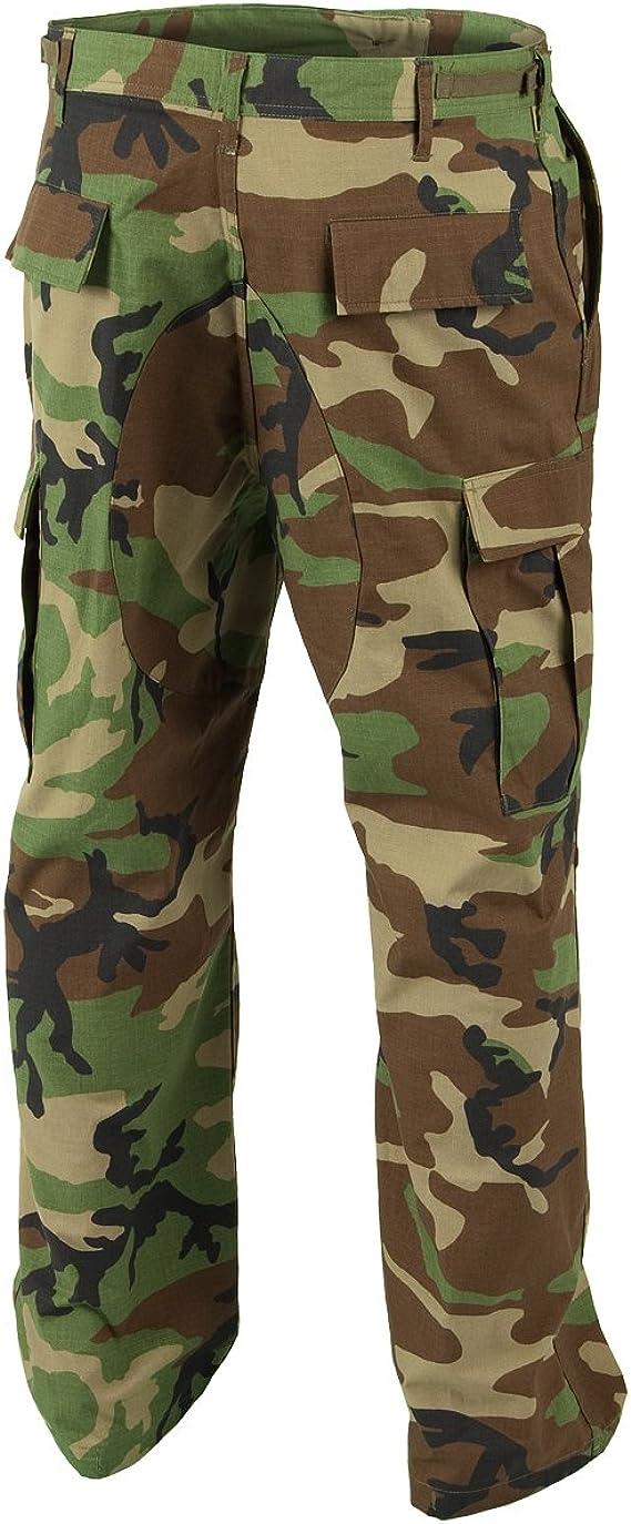 Helikon Genuine BDU Pantaloni policotone Ripstop Woodland