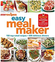 Because it comes from the only website powered by America's favorite cooking magazines, MyRecipes Easy Meal Maker includes dishes for every desire: indulgent comfort food from Southern Living; satisfyingly light dishes from Health and Cooking...