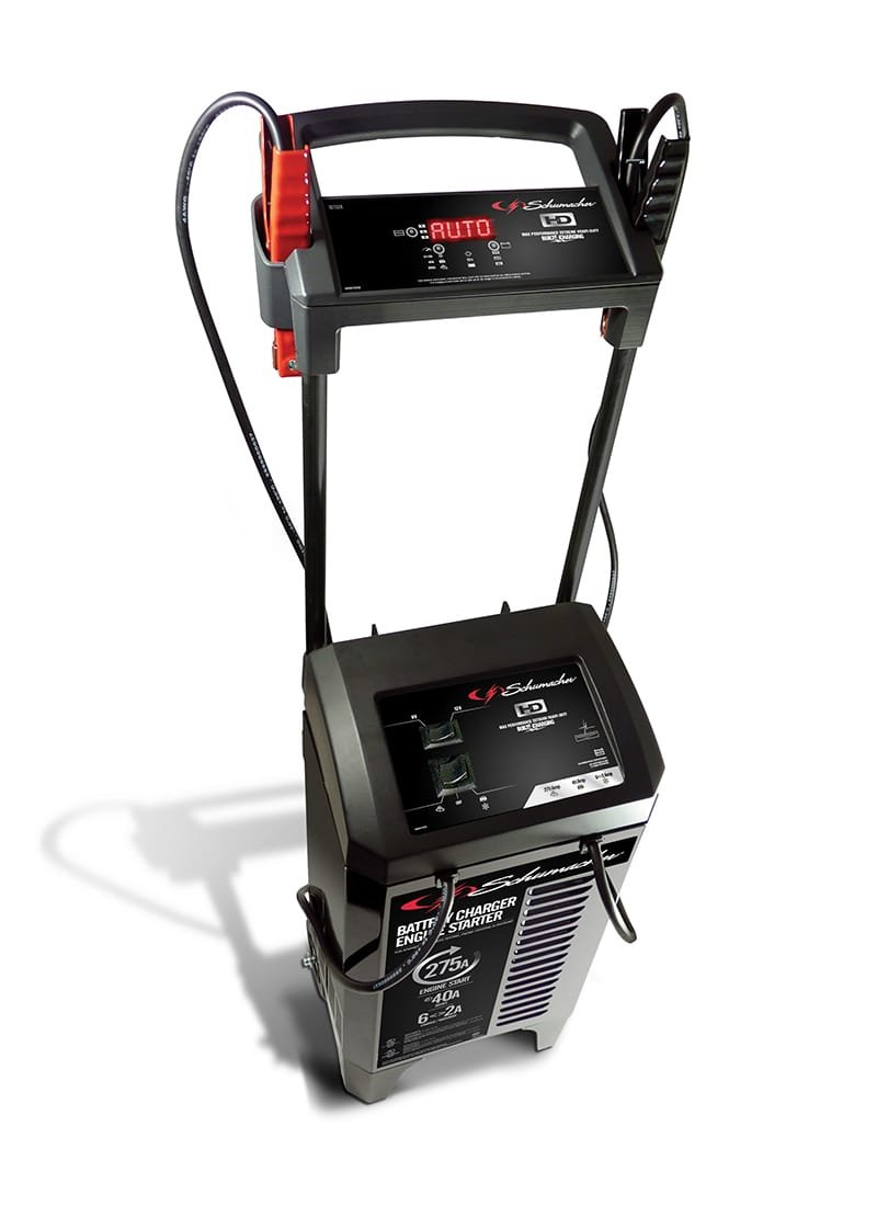 Schumacher SC1326 6/12V Wheeled Fully Automatic Battery Charger ...