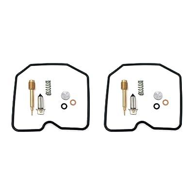 DP 0101-125 Carburetor Rebuild Repair Parts Kit (Set of 2) Fits Kawasaki: Automotive