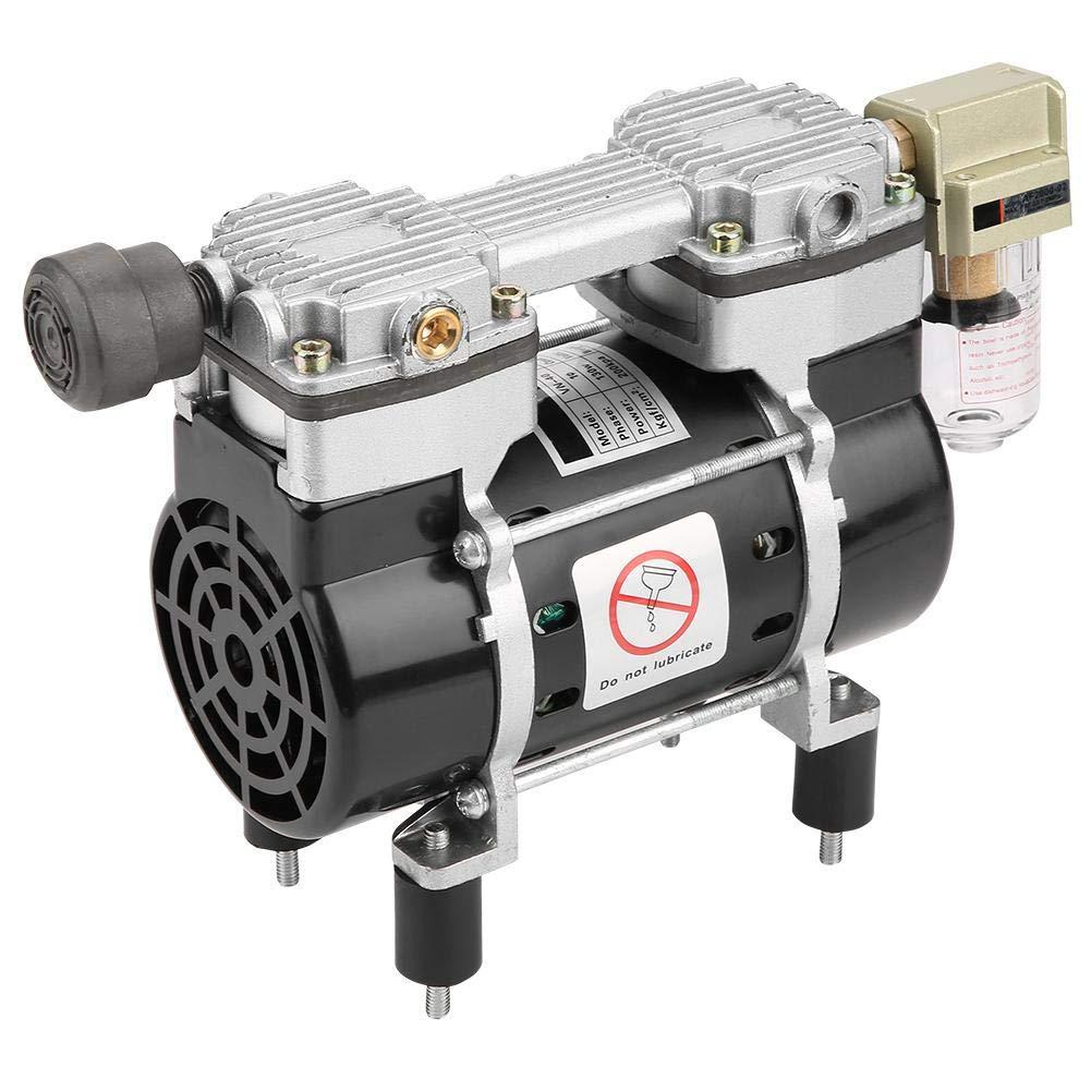 Pompe /à vide sans huile Pompe /à vide Oilless VN-40V 220V 130W Silencieux int/égr/é Moteur de compresseur dair Pompe /à vide robuste